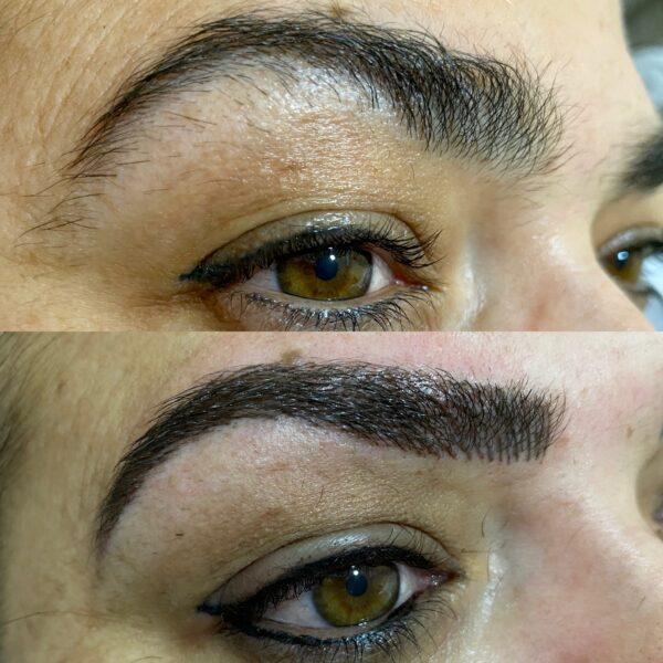 Micropigmentacion cejas y eye liner